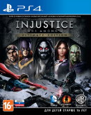 Injustice: Gods Among Us. Ultimate Edition (РУС) (PS4) б/у