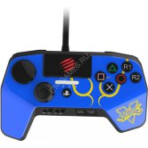Аркадный пад Mad Catz Street Fighter V FightPad Pro Ryu для PS4 / PS3 (синий)