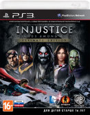 Injustice: Gods Among Us. Ultimate Edition (РУС) (PS3) Б/У