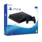 PlayStation 4 Slim (1 TB) Black   (EUR СUH-2016B)